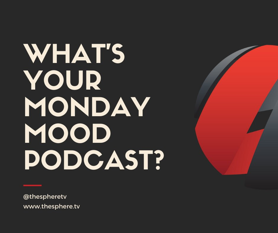 Yoooooo it's Monday! What's your podcast vibe on Mondaze? Let us know...  Comment ⤵️  #podcast #TheSphereNetwork #podcastlife #podernfamily #listen #applepodcast #tunein #music #podcasters #podecho #radio #spotify #hiphop #podsincolor #dopeblackpods #listeners #now