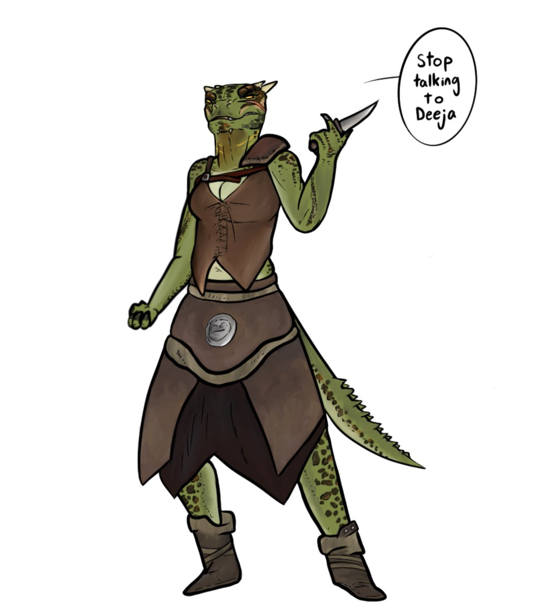I feel like Deeja s bit of an underrated character. I don't care what you say, she's a good thorn in the shoe<br>http://pic.twitter.com/bftzbWwys3