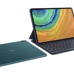 Image for the Tweet beginning: Huawei MatePad Pro takes on