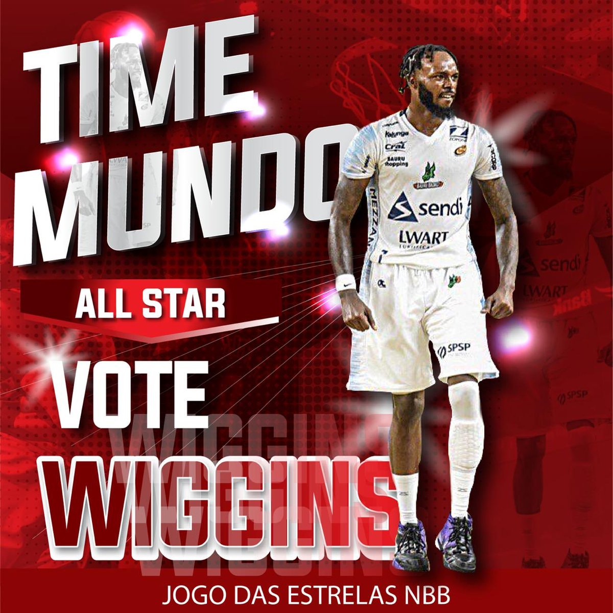5 MORE DAYS to vote! ✅ Help me get into the @NBB Game of Stars! I appreciate all the love & support! All you have to do is...   Tweet ➡️ Nick Wiggins #JogodasEstrelasNBB https://t.co/q3MVN6WgRi