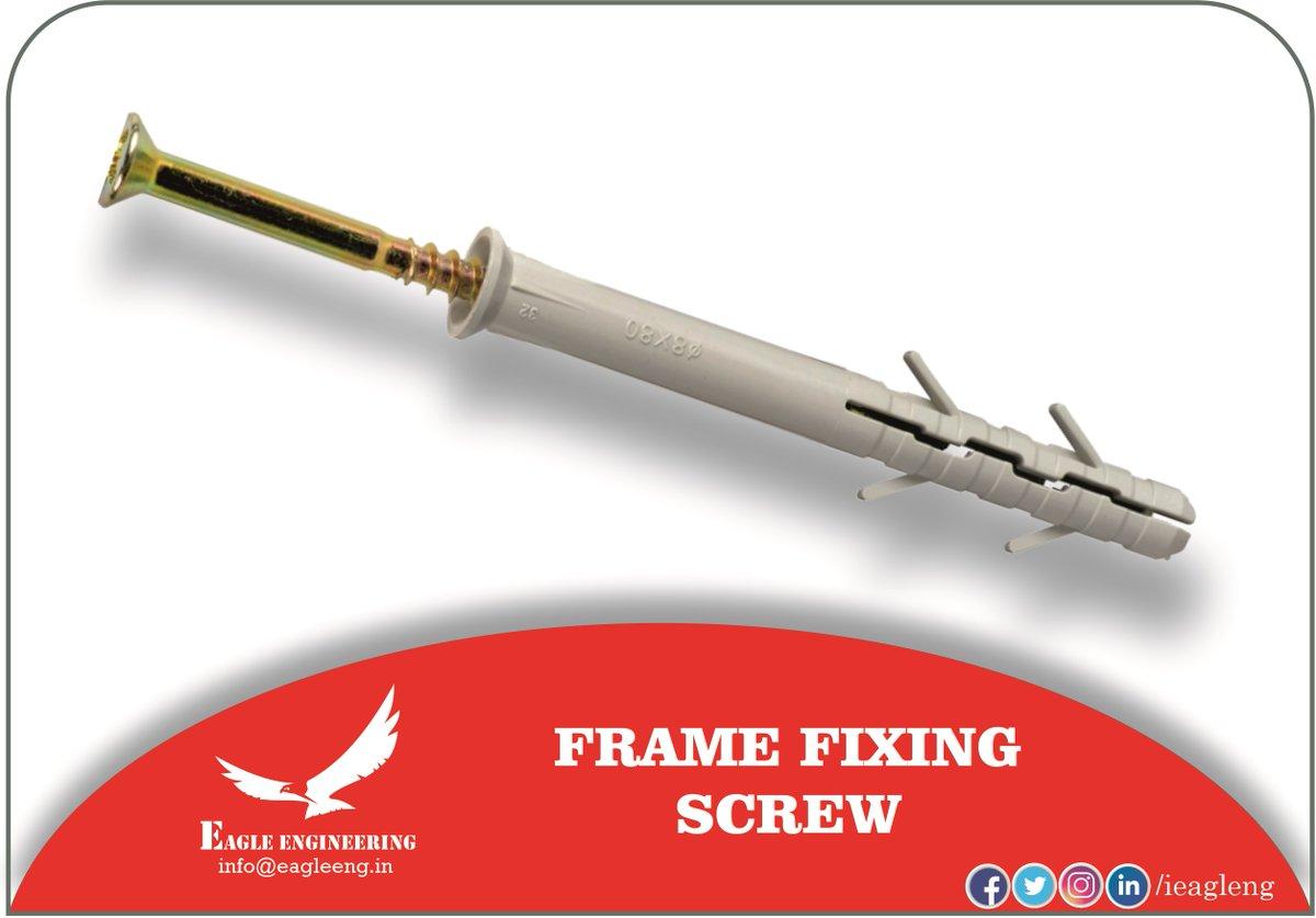 Get now for your business or projects - Frame fixing screw   #FFS #Product #door #window #Framefixingscrew #nylon #quality #upvc #doorsandwindow #Screw #fasteners #stock #ready #innovative #unique #upvcwindows #upvcdoors #upvcBangalore #upvcwindowsanddoors #upvcwindowsBangalore