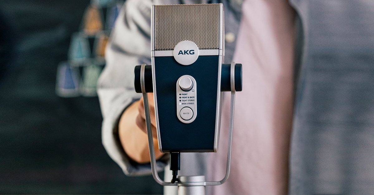 """""""The #AKG #Lyra #USB #microphone is a superb piece of audio engineering…offers exceptional value for money and a solid investment for #musicians, #vloggers and #podcasters. Highly recommended."""" Forbes tech journalist Mark Sparrow. Read the article here:"""