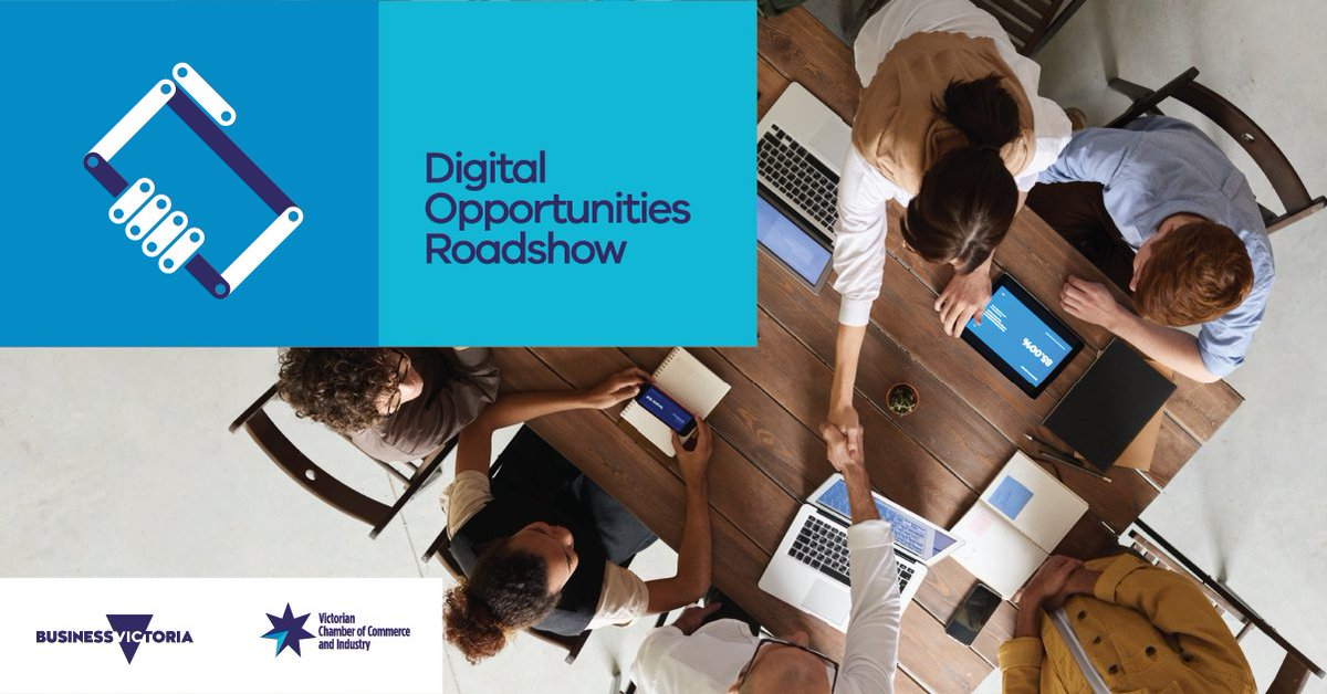 @businessvic in partnership with @vicchamber are hosting free workshops across regional Victoria to help small businesses make the most of the digital economy & reduce their cybersecurity risks. Register to a workshop near you. ow.ly/XVlA50ytQmF @RD_Vic @VicGovAg