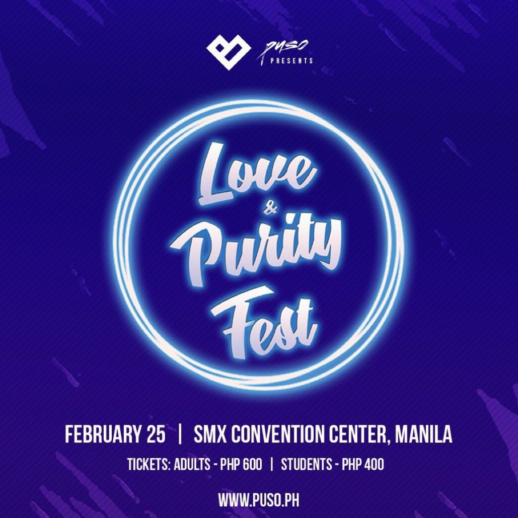 ‼️SEE YOU!!! Who's coming?? ‼️ #LOVEANDPURITYFEST