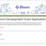 Image for the Tweet beginning: Have you considered integrating Bloom
