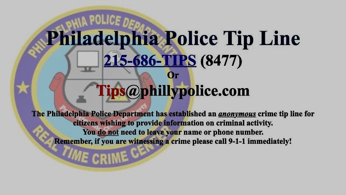Shooting, 21st/Master Street, 22nd District, 2/24, 3:10pm. Any information to Central Detectives, 215-686-3093/3094 OR