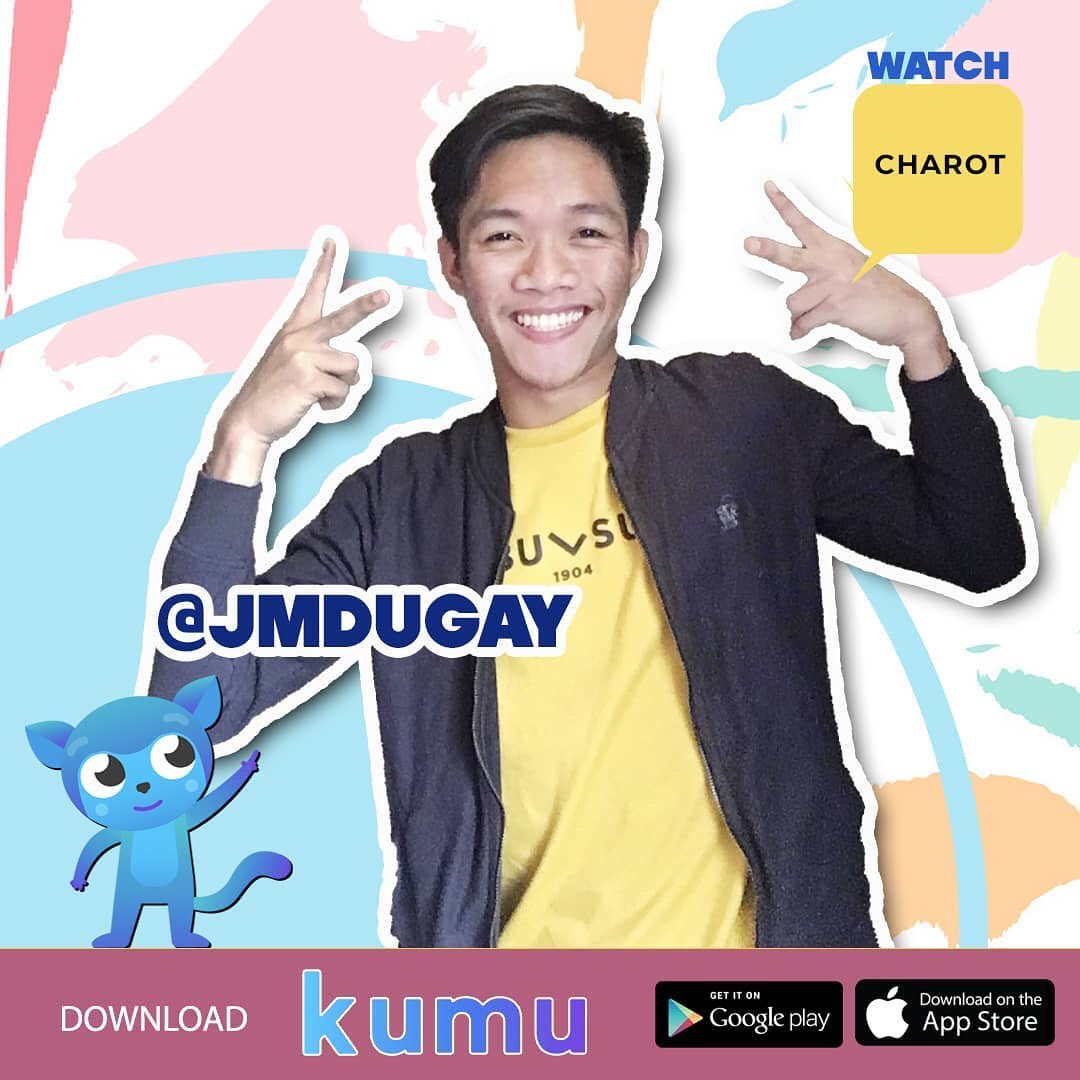 Download and watch @jmdugay in KUMU now! #charot  Please follow us in facebook and instagram: @itscharotofficial