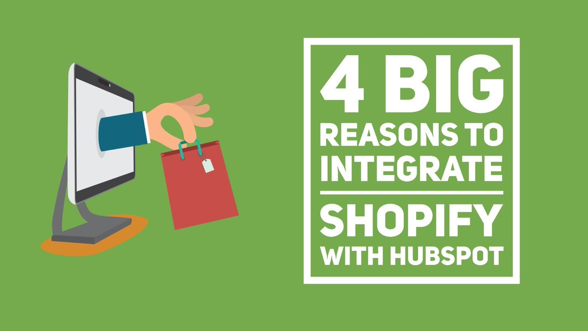 4 Big Reasons To Integrate #Shopify With #HubSpot #Sales #eCommerce #marketing http://bit.ly/2w3rKNM by @TheKingdomAus