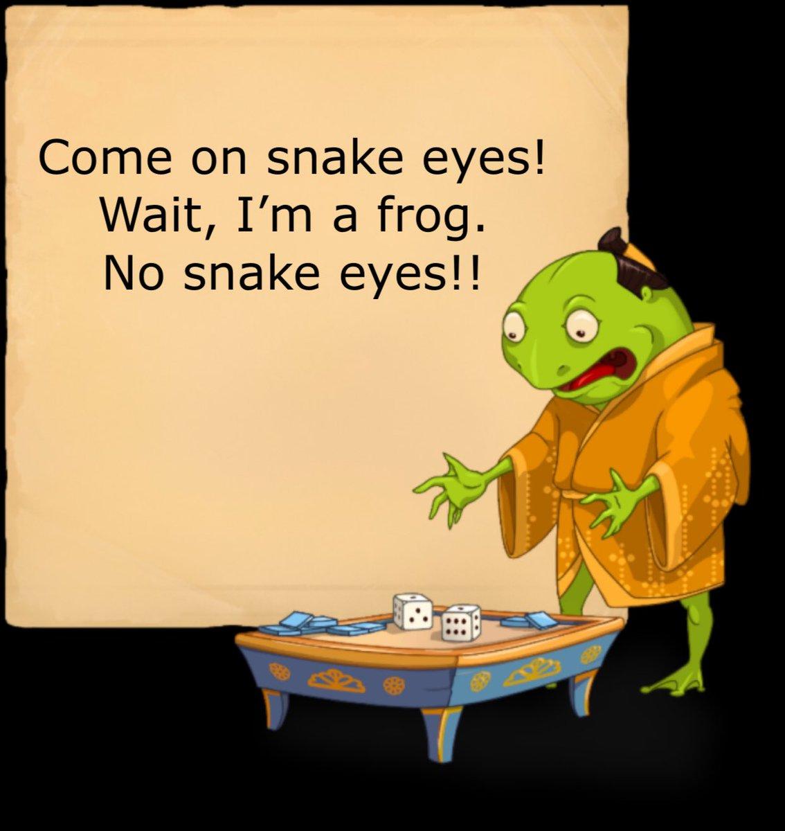 Bad idea #frog. U-Ge! isn't played that way #games #indiegames #boardgames #indiegamedev #gamergirl #gamenight #newgame #gamerpic.twitter.com/jARbdm4GrG