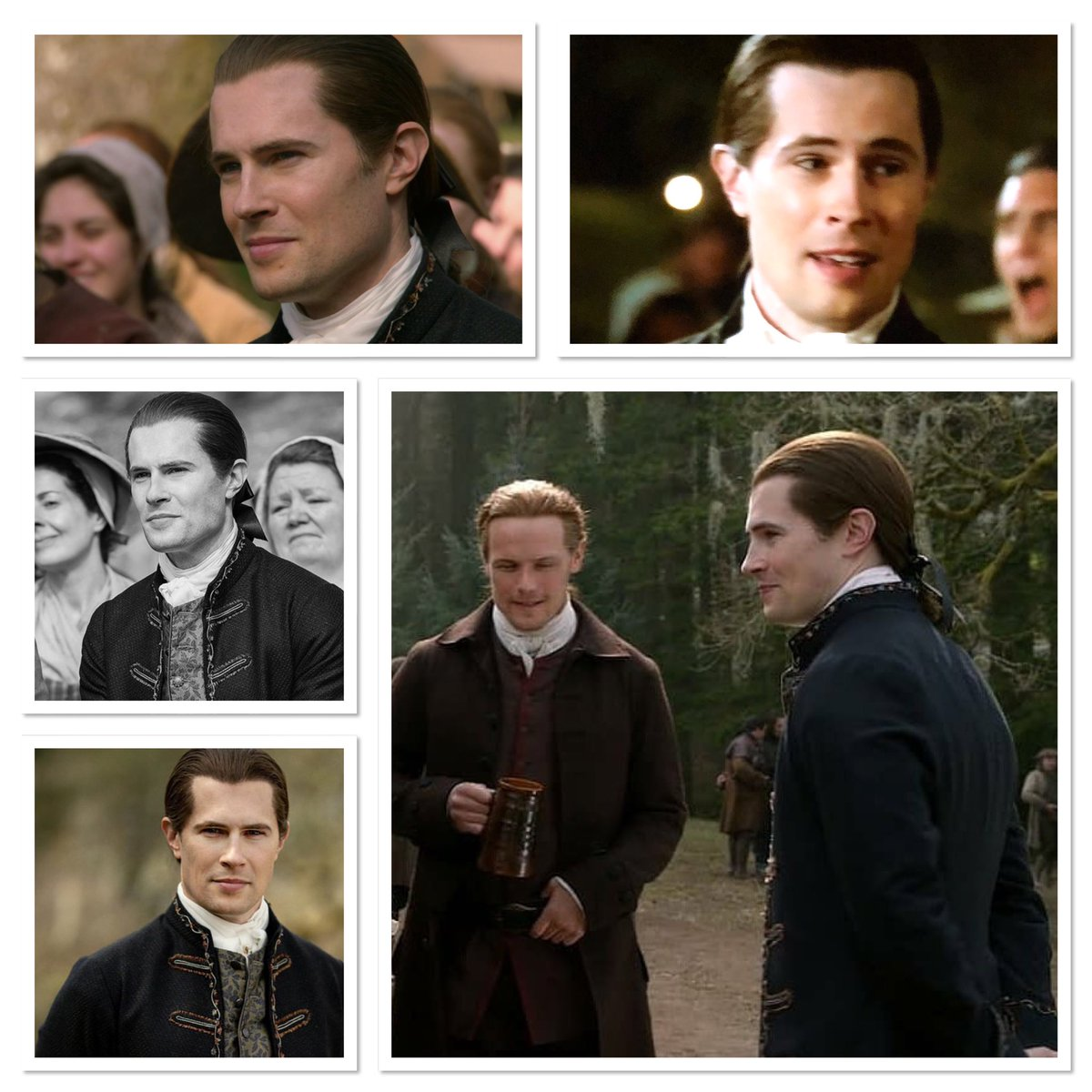 💕❤️💕Happy Tuesday Sassenachs 💕❤️💕Wishing Everyone a Beautiful Day and Evening 🌺🐝🌸🌷🌴🐥🦋🦄🐞🐛🙉🐷🐶🐹🌺#davidverry #lordjohngrey #outlander #jamesfraser #season5