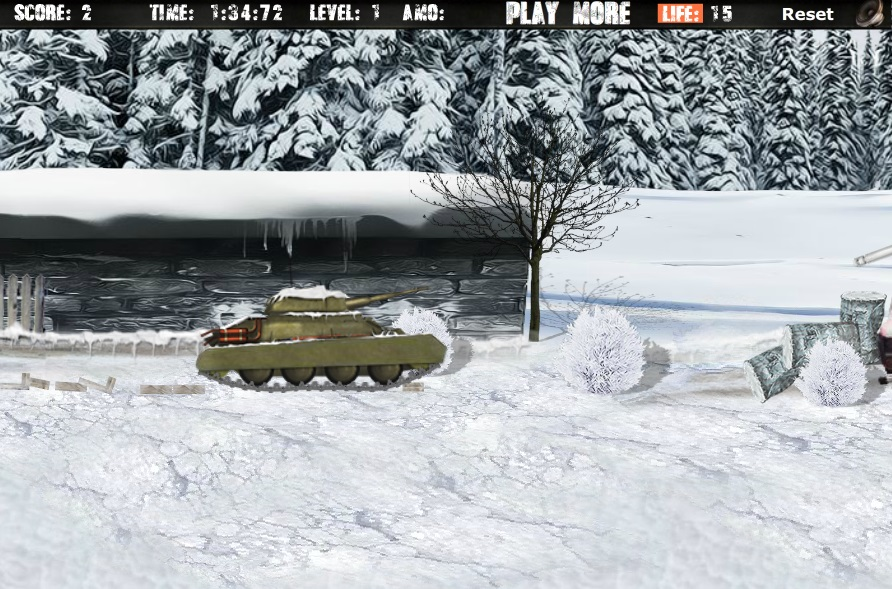 Winter Tank Strike -  #Winter #Tank #Games #Freegames #Onlinegames