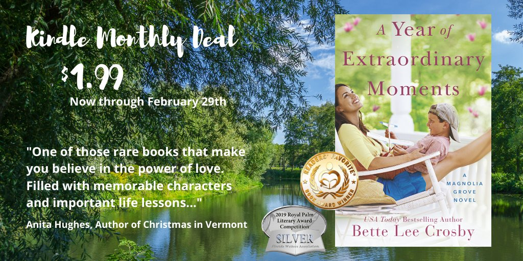 Amazon has A Year of Extraordinary Moments on sale for $1.99 for the entire month of February! Pick up your copy of this Kindle Monthly Deal today! #AmazonSale #Amazon #KindleSale #Kindle #Sale #WordsWitWisdom #Heartwarming #LakeUnionAuthors https://amzn.to/2T3eteg