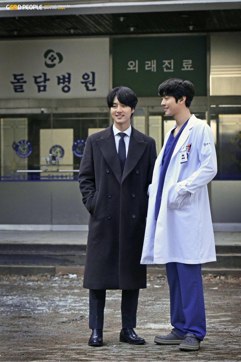 [2020.02.24] Good People Ent. Naver Post:   Dr. Romantic 2 x Yang Se Jong x Ahn Hyo Seop (1)  http://naver.me/5i637ueX  #yangsejong #낭만닥터김사부2 #도인범 #공우진 #ahnhyoseop #안효섭 #yoochan #mrgongpic.twitter.com/uGBvbQfgP2