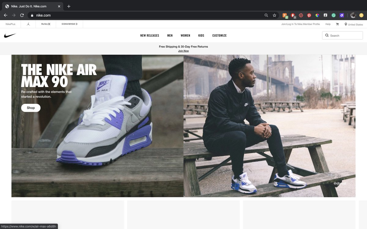 some of my photos for the @nike homepage 🙏🏾