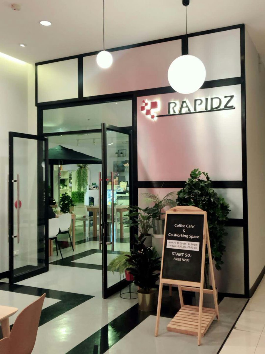 Wondering how you can pay with your crypto from your wallet? Come visit our Rapidz cafe shop and pay with your crypto. Location: 1839 Phahonyothin Rd, Lat Yao, Chatuchak, Bangkok 10900, Thailand 🇹🇭 #RAPIDZ #CRYPTO #BLOCKCHAIN #PAYMENT