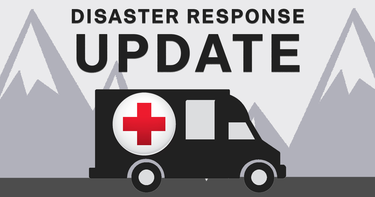Our volunteers in #PuebloCO are heading to Cedar St. where a single family fire displaced a family of 2 adults, 3 children and 2 dogs. One cat perished. The family will receive assistance with any immediate needs as they begin to recover. #endhomefires #bettertogether pic.twitter.com/ByQtIf2CW7
