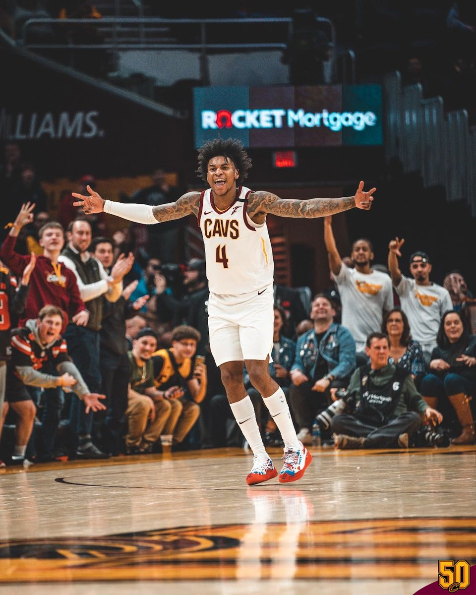 𝑮𝒐 𝒂𝒉𝒆𝒂𝒅, 𝑹𝒐𝒐𝒌 🔥🔥🔥  @Kevinporterjr notched a career-high 30 points along with three dimes and eight boards tonight.