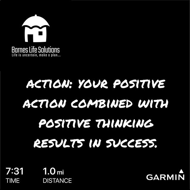 Action: Your positive action combined with positive thinking results in success.  #action  #betterthanyesterday  #barneslifesolutions #runeachdayof2020 #successmindset  #bethankful #makeyourimpact #nevergiveup #youarebetter  #icaniwill #bigambitions #lifelessons #pushyourself #dopic.twitter.com/m4XIGZDPuy