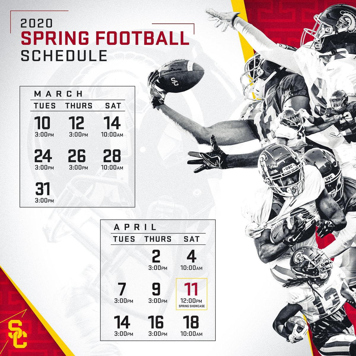 Spring SZN is almost here‼️ Lock these dates in 👀✌️  #TrojanMade