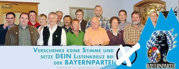Verschenken Sie keine Stimme bei der Kreistagswahl! Machen Sie Ihr Listenkreuz bei der Bayernpartei, Liste 10! pic.twitter.com/k9PAH9ShVV