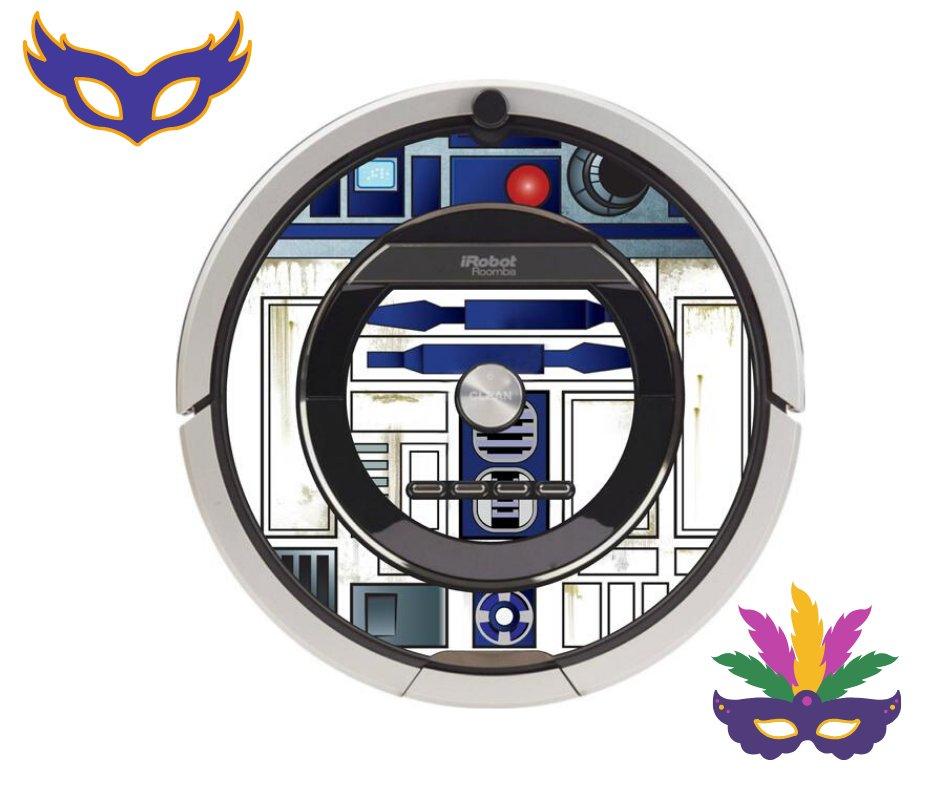 Martes de Carnaval... Día de Disfraces!! Como nos gusta esta fiesta y parece que a Roomba también o debería decir R2D2? Recuerda que hoy nos tomamos el día de fiesta!! Nos vemos mañana ;-) #CarnavalRoomba https://t.co/rCmCo3GGzy