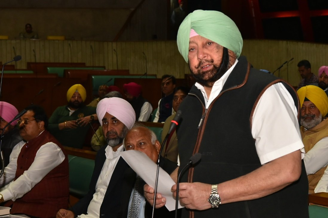 We will not let #KartarpurCorridor to be closed down, declares Chief Minister capt_amarinder Singh in Punjab Assembly, terms controversy over DGPPunjabPolices remarks `Avoidable'. CM says Dinkar Gupta had already apologised & it was time to focus on pea…
