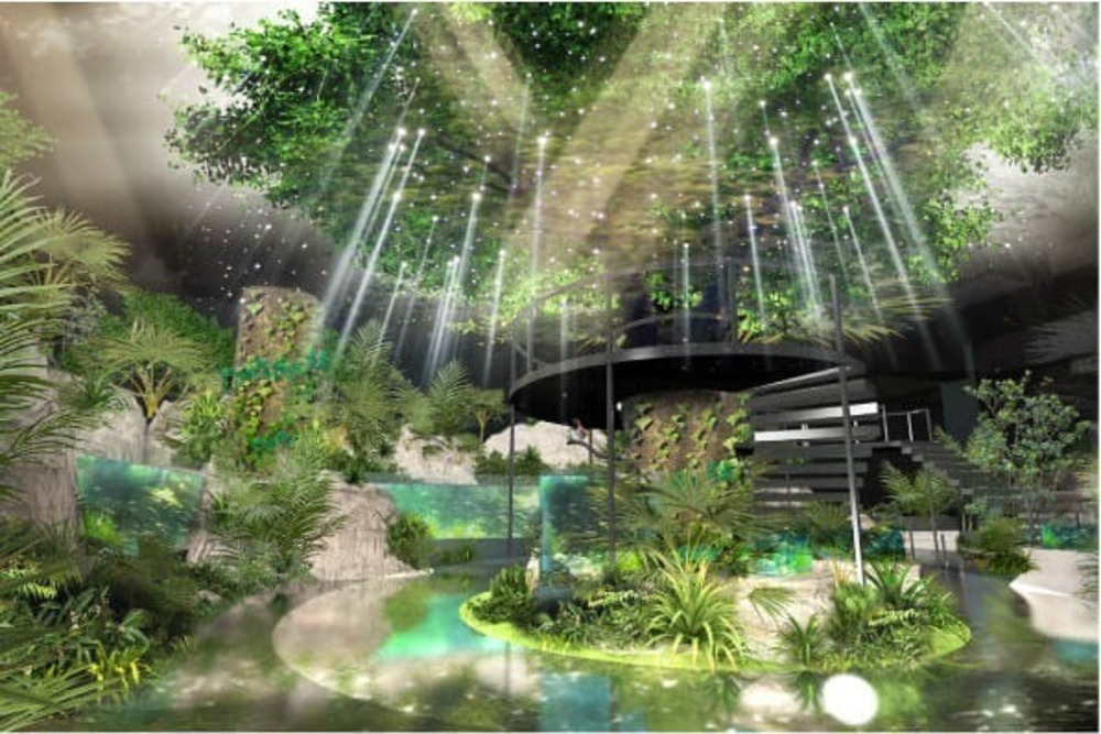 「DMMかりゆし水族館」イーアス沖縄豊崎に4月オープンへ - 最新の映像表現を駆使したエンタテイメント水族館 -