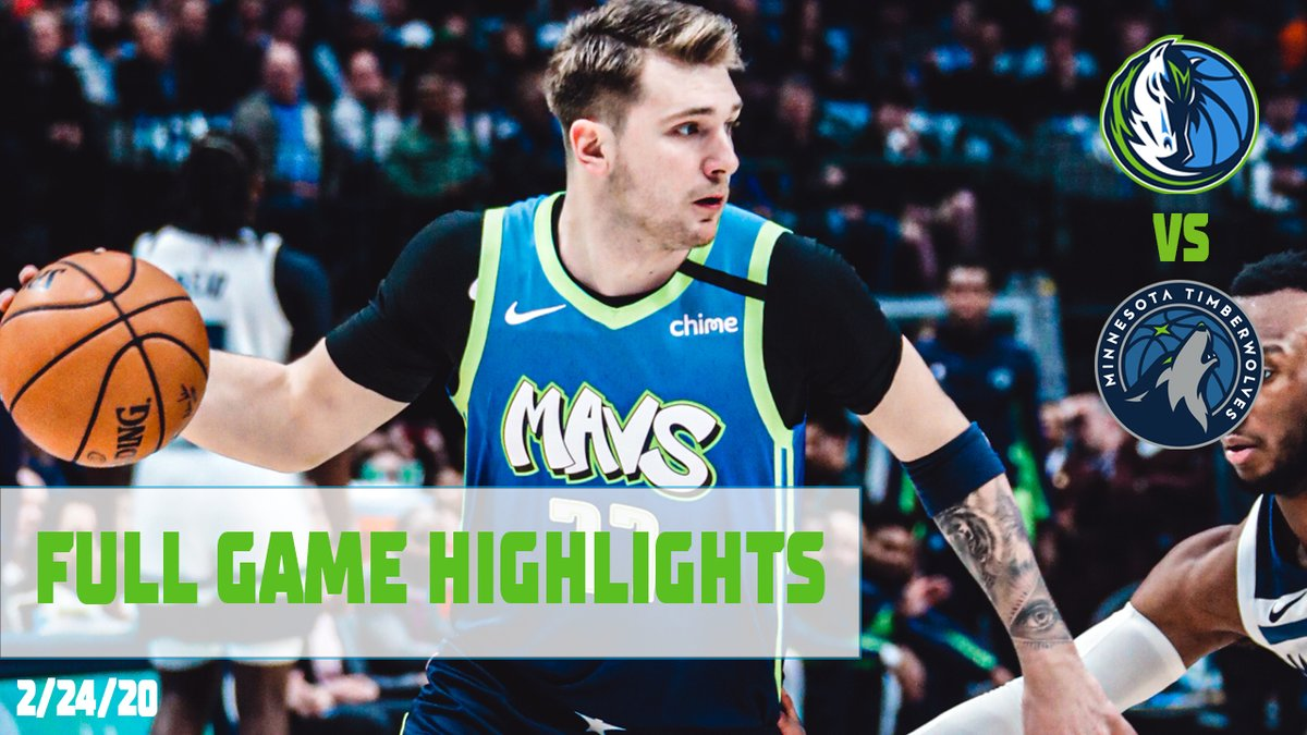 Luka Doncic filled up the stat sheet in the Dallas Mavericks 139-123 win over the Minnesota Timberwolves.  20 PTS  9 REB | 7 AST | 2 STL | 1 BLK  #NBA/ #Mavs / #MFFL