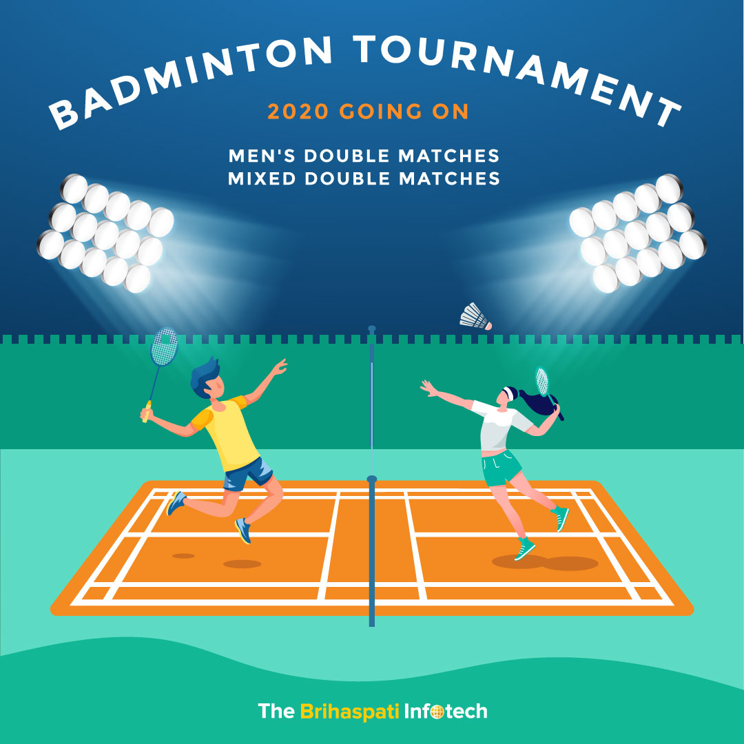 """Its time to leave the winter blues behind and get your competitive spirits high as """"TBI Badminton Tournament"""" is back again! #TBI #badminton #badmintontournament #badmintonlovers #sportpic.twitter.com/Z6llGztr7X"""