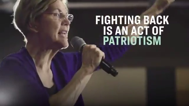 We've had three years of Donald Trump, and people are afraid. Our democracy hangs in the balance in this election. So here's the decision that we have to make—do we pull back, or do we get in the fight?  Me, I'm fighting back. Fighting back is an act of patriotism.