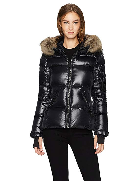 US $449.98 - SAM Women's Blake Shaped Down Puffer Jacket with Real Fur Hood :-) FOR MORE DETAILS AND PURCHASE :-)   #befashion #SAM #Womens #Blake #Shaped #Down #PufferJacket #RealFur #Hood #Mens #Winter #Ultralight #Coat #Jacket #Thicken #Hooded #Puffer