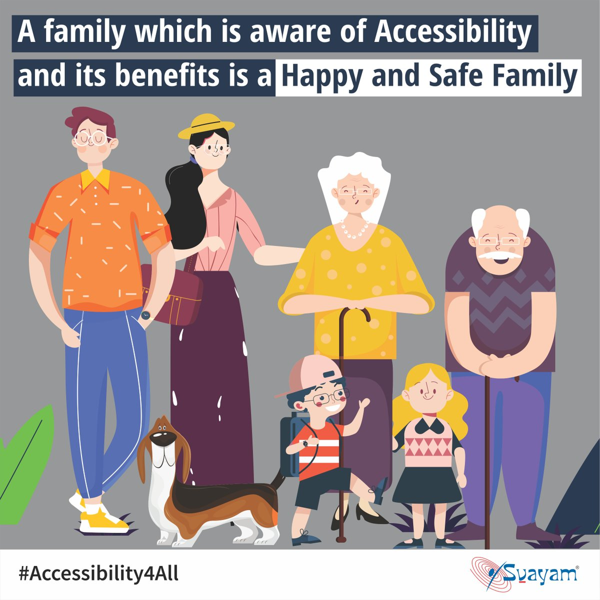 The perception that #Accessible home & #bathroom are required only by persons with #disabilities is a Myth; in fact, it makes lives of all #family members safer while #elderly, pregnant women, injured & #children find it convenient too. #Accessibility4All #Home #toilet
