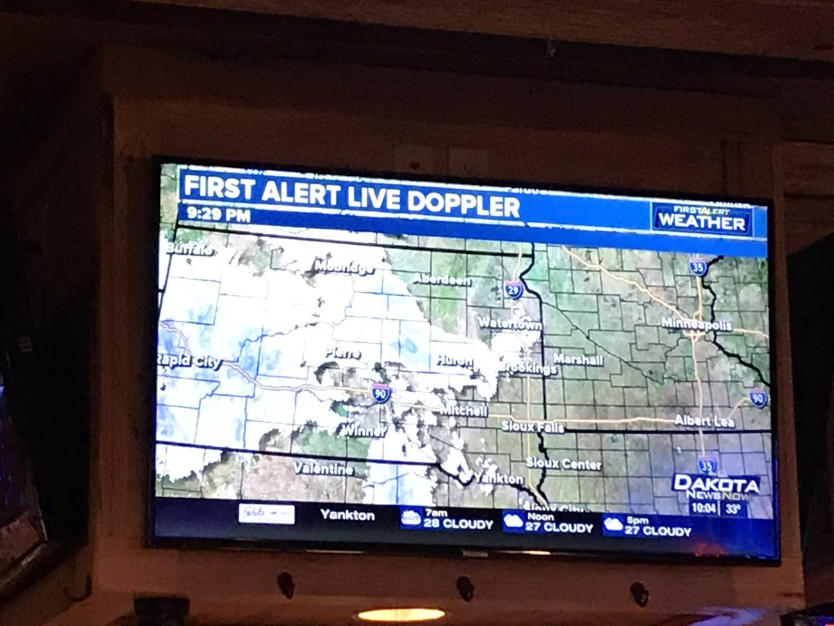 I work in #SoDak a lot. This weather map could be any of about 7 months! #weather #winter