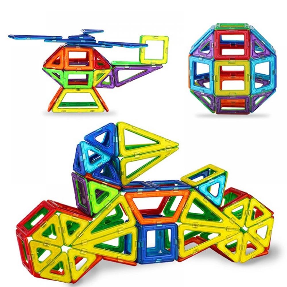 #momlife #handmade Colorful Magnetic Building Kit