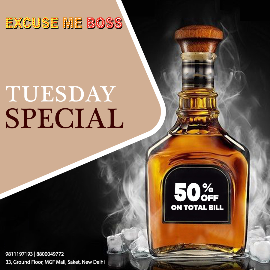 Tuesday Special...50% Off on total bill  Clubbing Day & Night !  Call 4 Your Reservation at +919811197193  #delhifood #saket #delhi #delhigram #foodie #Clubbing #party #dance #clubs #music #nightlife #delhinightclubs #amitynoida #delhilife #bestoffers #instadaily #weekendpic.twitter.com/8DfhU1lTrK