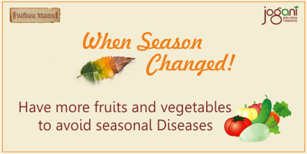 Wellness Mantra by Jogani Wellness Tips for seasonal changes   #wellness #womenshealth #therapies #healthcare  #Joganiwellness #detox #healthtips #weightloss  #dehydration #season #flu #illness #viral #fitness #fruitsbasket #fruitlog2020 #vegetables #fruits