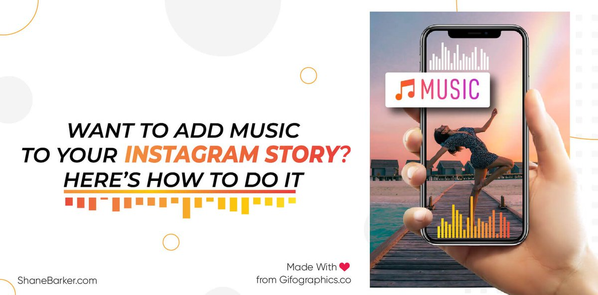 Want to add #music to an #Instagram Story but don't know how to do it?  Read this post; it shows you how exactly you can make your Stories more engaging by adding music.   via @shane_barker