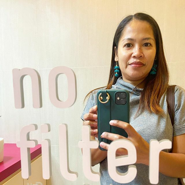 Bagong facial kaya pa-#selfie muna 😅 . SELF-CARE. You deserve it mommy, for everything that you do for your family, don't forget to take care of yourself. You can never pour from an empty cup. 💞 .  Love yourself, take care of yourself first, everythi…