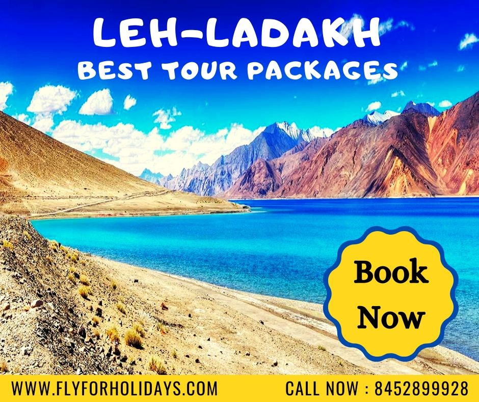 Enjoy your vacation by experiencing the best of Leh & Ladakh with a view of surrounding mountain ranges and the spiritual connection of Buddhism. #leh #ladakh #vacation #mountains #biking #flyforholidays #tours #travel