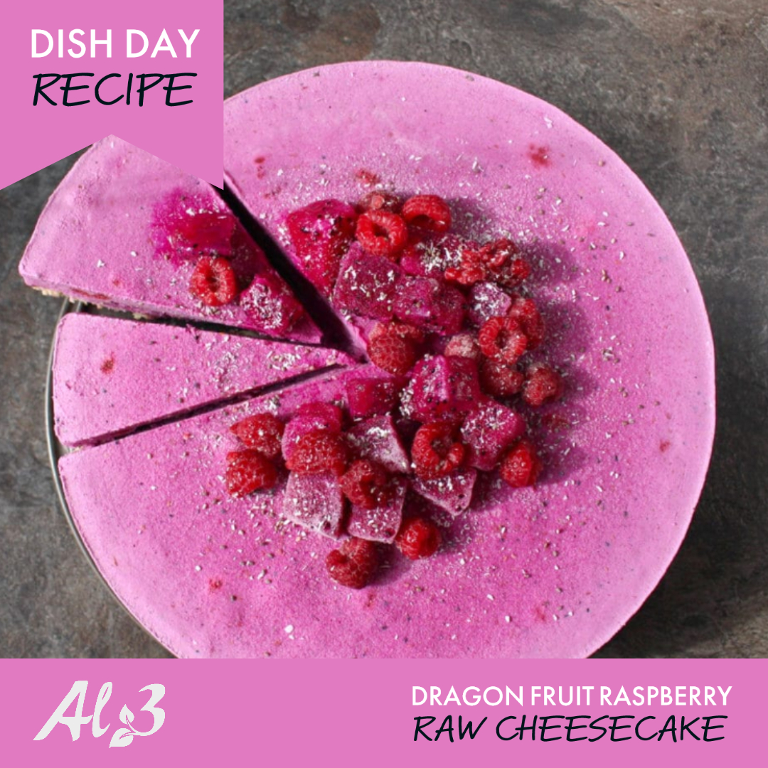 Find this #Delicious #Vegan #Recipe here:  https://www.abakingjourney.com/dragonfruit-raspberry-raw-cheesecake/ …  #DishDay #AL3BoerderySA #SweetDragonFruit #HealthyLiving #Healthy #Fruit