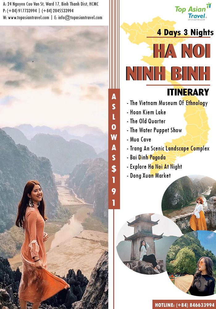 NINH BINH - HIDDEN GEM OF VIETNAM  #TopAsianTravel #WelcomeVietnam #Hanoi #NinhBinh #Vietnam  TOP ASIAN TRAVEL JSC 24 Nguyen Cuu Van Street, Ward 17, Binh Thanh District, HCMC Hotline: (+84) 917733994 | (+84) 2845533994 Website: http://www.topasiantravel.com | info@topasiantravel.compic.twitter.com/Y9l6aUmyrq