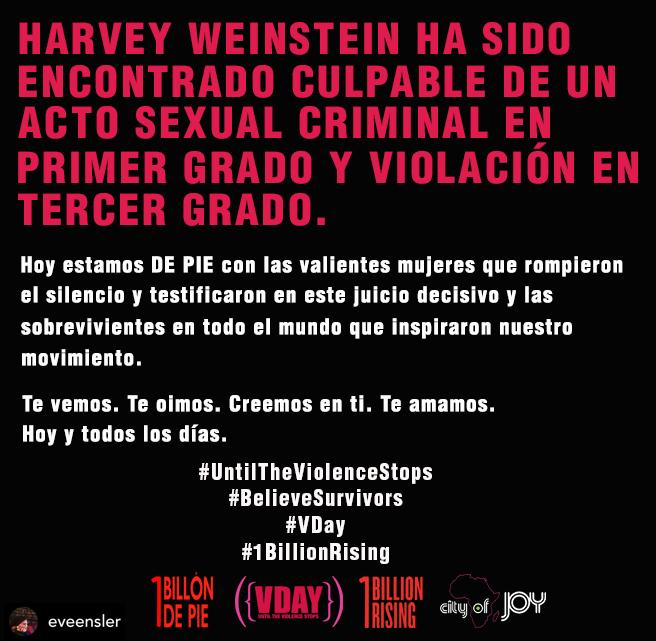 #UntilTheViolenceStops #BelieveSurvivors #Vday #1BillionRising  @1BillonDePieMex @VDay