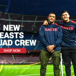 Image for the Tweet beginning: EASTS SQUAD CREW On Sale