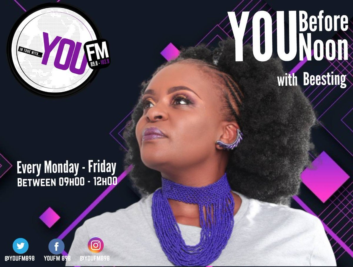 You can't enjoy wealth if you're not in good health, make changes towards a healthier lifestyle #YouBeforeNoon with @BeestingBonolo  IN TUNE WITH YOU  DSTV Channel 842  #CelebratingYOU #YOUInspireUs