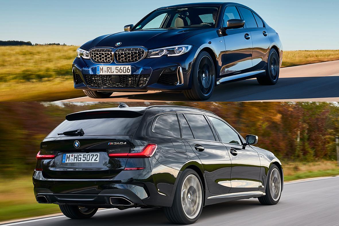 Combinaţie de eficienţă şi sportivitate: #BMW M340d xDrive Sedan & Touring. Premieră la @gimsswiss: http://press.bmwgroup.com/64h3E. #THE3