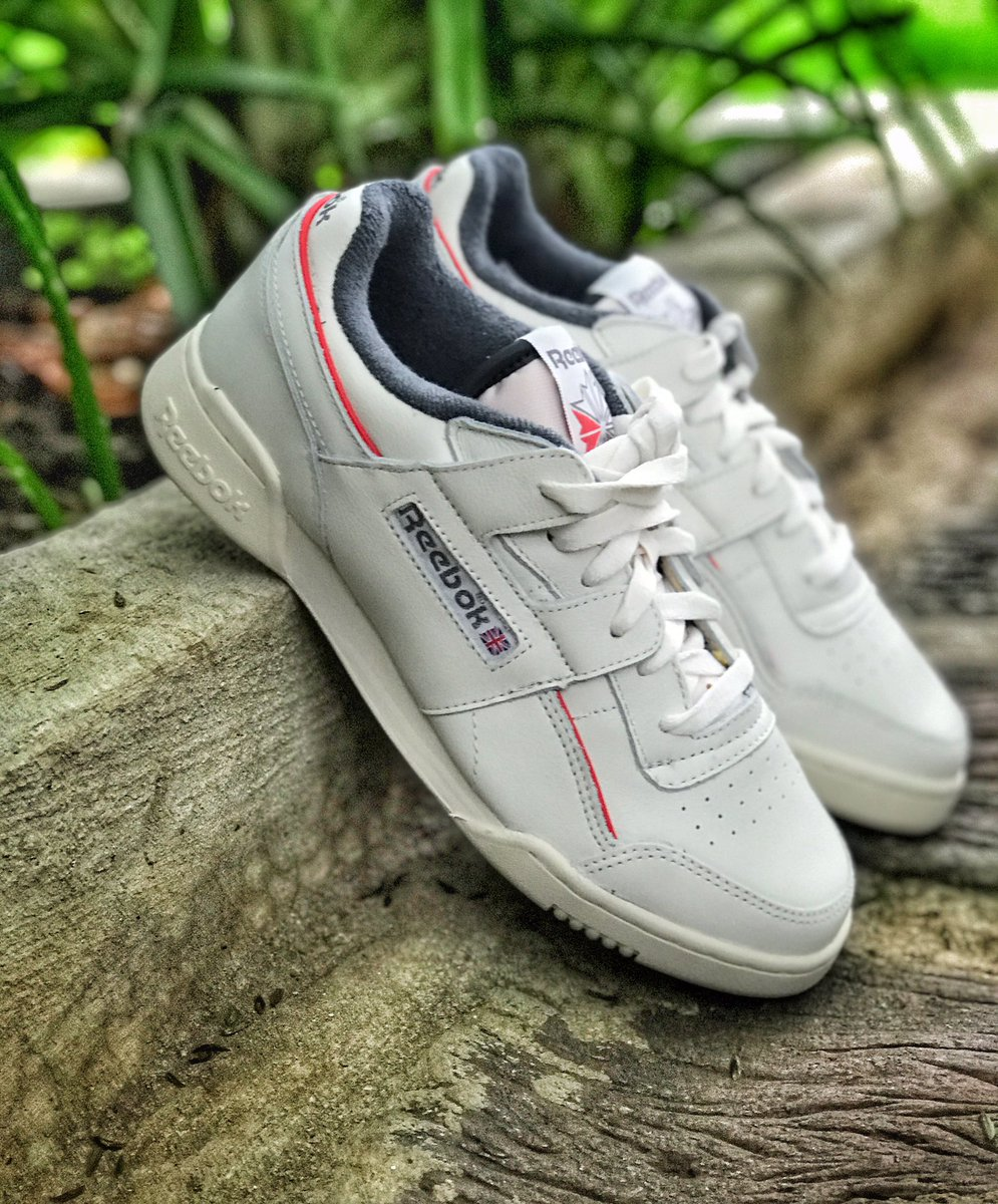 . REEBOK . Workout Plus | R1699 | 6 - 10 @reebokclassics serving the silhouette which gives you instant cred on the classic circuit.  #officiallytape #reebok #reebokclassics #streetwear #snobshots #menswear #classics #kickass #kicks #OG #90s #dailywearpic.twitter.com/HHCK0DjJbe