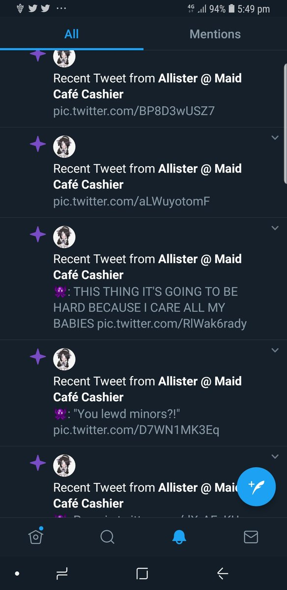 Why is all these showing in my notifications? Which ghost type did this?!? HUH?!?