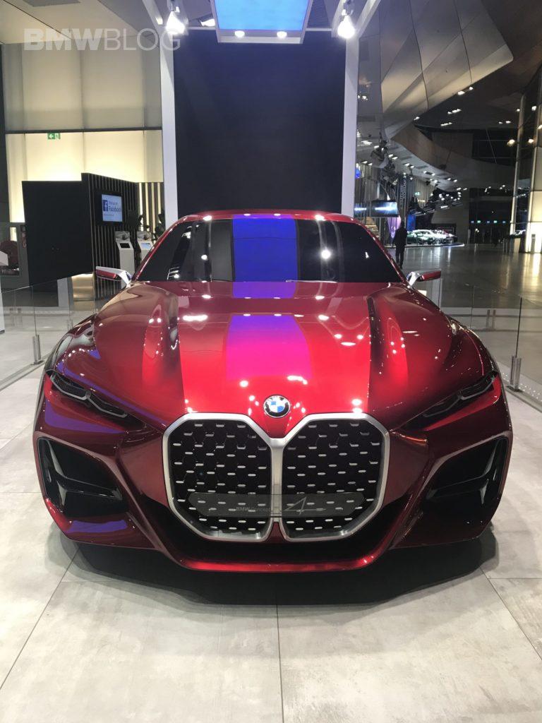 BMW Concept 4 is displayed at the BMW Welt in Munich - http://bit.ly/3c5t8jw #4Series #Bmwwelt #Concept4 #G234Series