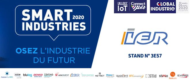 Image for the Tweet beginning: [Smart Industries] @ier_group exposera ses