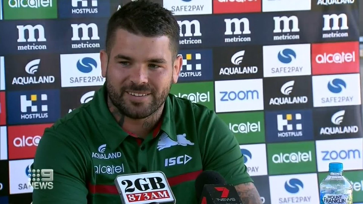 Adam Reynolds has two loves, his family, and the @SSFCRABBITOHS, and today he was named captain of the club he's loved all his life. @Danny_Weidler #9News